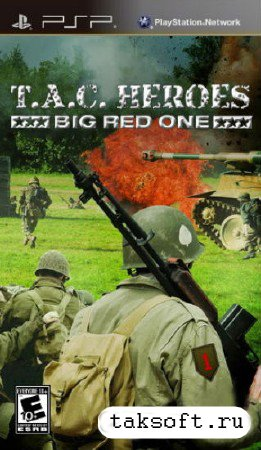 T.A.C. Heroes: Big Red One (2013/ENG) PSP