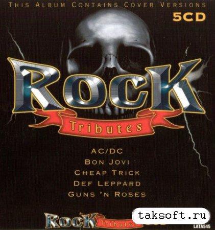 5CD Rock Tributes (AC-DC, Bon Jovi, Cheap Trick, Def Leppard, Guns'N Roses) (2006)