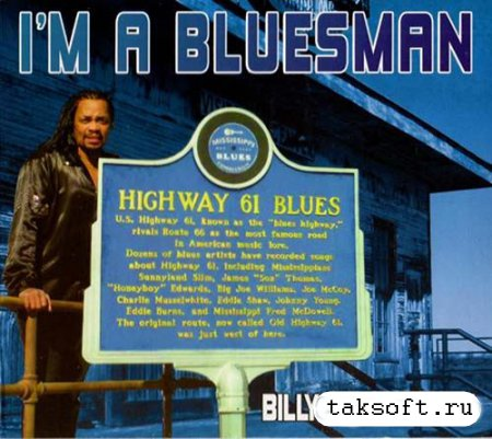Billy Jones Bluez - I'm A Bluesman (2013)